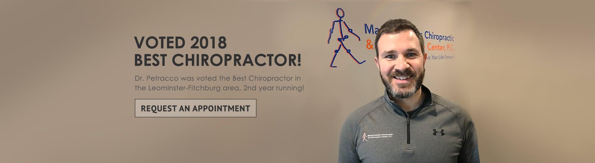 voted 2018 best chiropractor